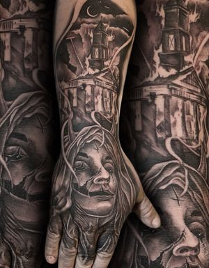 One session, sat like a rock! Thanks Robert! #tattoos #guyswithtattoos #ink #inked #losangeles #tattoodo #radtattoos #artist @stencilanchored @dynamiccolor @eternalink @cheyenne_tattooequipment @eikondevice @hustlebutterdeluxe @rinsecup @saniderm