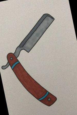 traditional razor blade