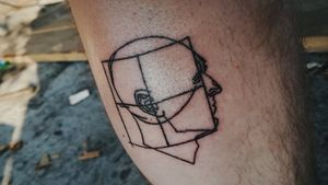 PROPORTIONS sticknpoked on myself