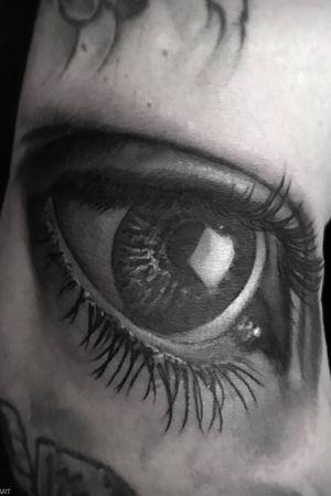 Eye Tattoo #tattoo2me #tatted