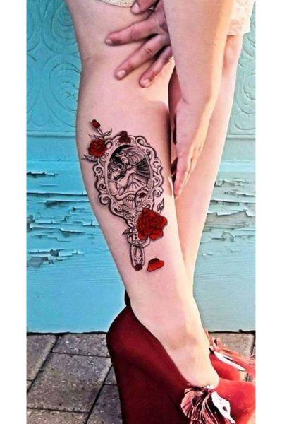#BeautyAndTheBeast #disney #mirror #roses