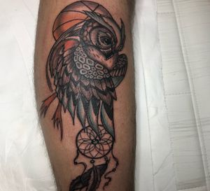 #owl #Basketball #dreamcatcher