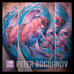 The Fish #peterbogdanov #bealegend #legendink legendink.com