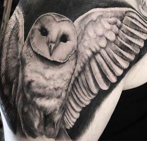 #deftones #owls #ink #inked #losangeles #tattoos #guyswithtattoos
