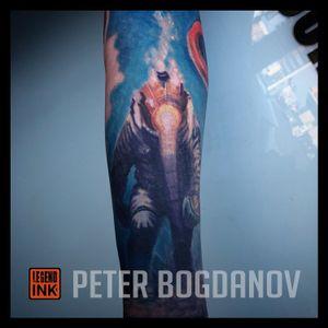 Diver #peterbogdanov #bealegend #legendink legendink.com