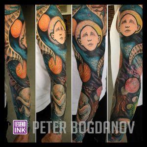 Space #peterbogdanov #bealegend #legendink legendink.com