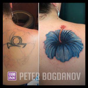 Cover Up #peterbogdanov #bealegend #legendink legendink.com