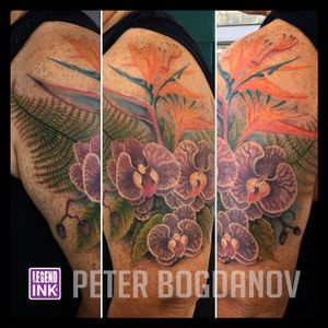 Flowers #peterbogdanov #bealegend #legendink legendink.com