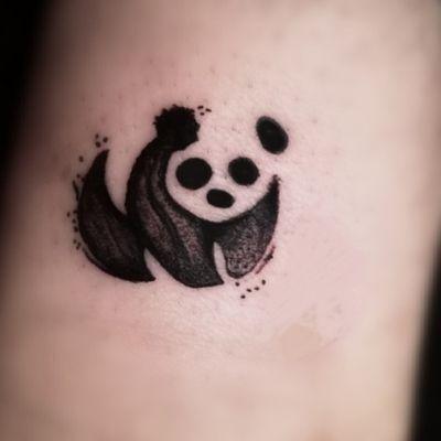 #tattoo #tatuajes #tatuaje #tatuage #tattootime #tattoolife #tattoocommunity #tattoocomm #tattooer #tatuador #tatoueur #inker #tattooing #tattooink #ink #inklife #tattooart #davesalazarartattoo #artista #artistatatuador #panda #pandatattoo #blackwork #brushtattoo #harajukuink #radianttattoo #熊猫