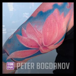 Flower #peterbogdanov #bealegend #legendink legendink.com