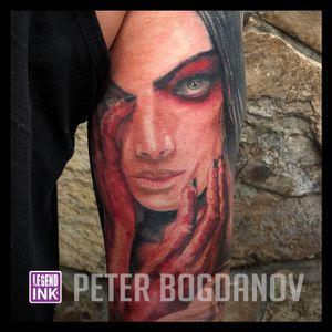 Bloody Hands #peterbogdanov #bealegend #legendink legendink.com