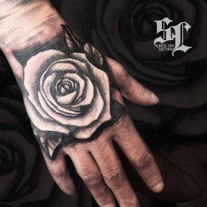 Rose #rose #handtattoo