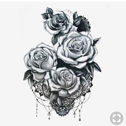 Floral mandala tattoo sketch #roses #floral #rose #mandala #mandalatattoo #mandalas #mandalastyle #blackandgrey #lace #lacetattoo #floraltattoo #floraldesign #sketch #sketches