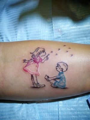 Hijos #creacionestonos #tattoos #tattooworld #kids