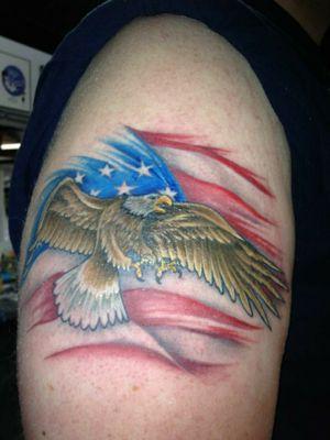 #baldeagle #eagle #Usa #flag