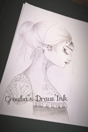Futur tattoo ! #womenwithtattoos #draw #tattoo #nexttattoo