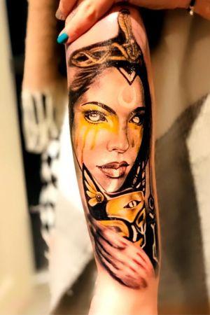 Cleopatra tattoo
