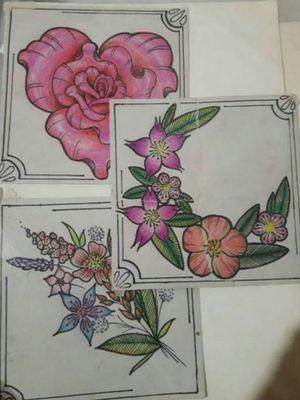 Poder flowers