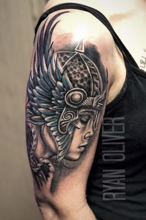 Viking Valkyrie tattoo