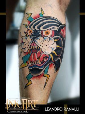 Post tradicional - INK ART Tattoo & piercing Artista residente Leandro Ranalli