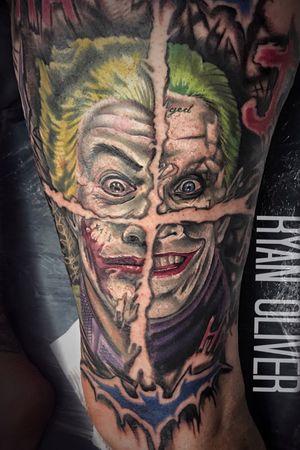Four joker mash up portriat
