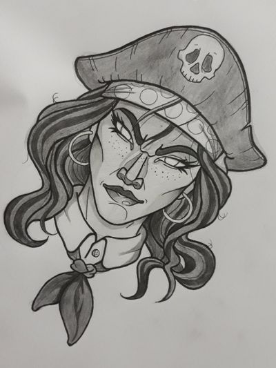 Anne Bonny - Pirata ( 08/03/1702 - 22/04/1782 ) Anne Bonny foi uma Pirata irlandesa juntamente com Mary Read. Foram as duas capitãs mais famosas do Caribe. . . . #TattooSp #TattooSampa #TattooSaoPaulo #tattooapprentice #TattooSudeste #TattooBrazil #TattooCaribe #TattooBrasil #TattooPirata #Pirata #AnneBonny #Chicano011 #TattooNeoTrad #neotraditionaltattoo #tattoooldschool #comictattoo #animetattoo #TattooEurope #TattooAmerica #PirateTattoo #Pirate #PinUpTattoo #TattooCriativa #TattooCriação