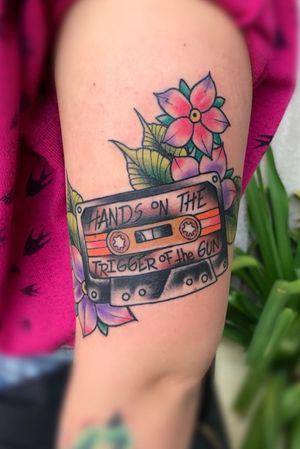 Traditional the clash cassette punk