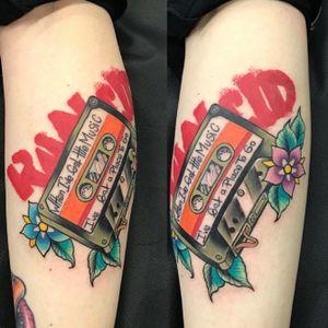Traditional rancid cassette punk