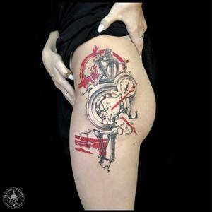 Realistic trash polka style #vladimircherep #kraskatattooink #tattooup #colortattoo #trashpolka #eztattooing #trashpolkatattoo #inkfreakz #blackandgrey #grindcore   #tattooinmoscow #besttattoo #realistictattoo #brand #style #tattooinrussia #moscow #grindcoretattoo #владимирчереп #трэшполька #тату #бренд #стиль