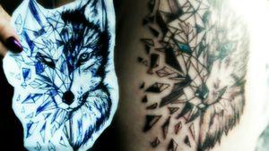 #wolf #mix #sketch #tattoo #tattooedgirl #tattooartist#followme #hellotattoomed #suprasorb #bullet#blackgrey #cheyenehawk#eternal #beautifulink #cartridge #elitecartridge#cheyenehawk #follow #followforfollow #artist #dreamtattoo #mindblowing #mone1971#tattoo #artist