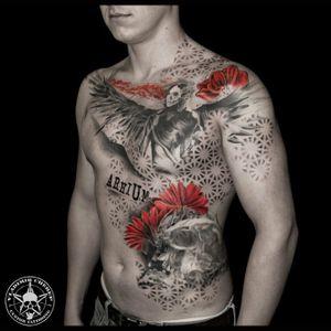 #vladimircherep #kraskatattooink #tattooup #colortattoo #trashpolka #eztattooing #trashpolkatattoo #inkfreakz #blackandgrey #grindcore   #tattooinmoscow #besttattoo #realistictattoo #brand #style #tattooinrussia #moscow #grindcoretattoo #владимирчереп #трэшполька #тату #бренд #стиль