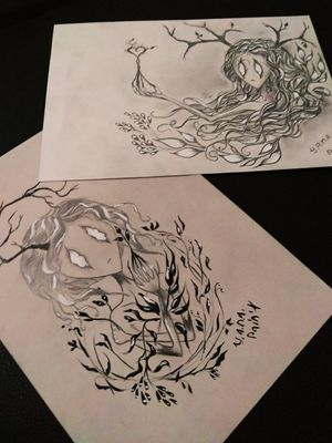 Свободные эскизы. Free scetch. #myart #mydesign #tattooscetch