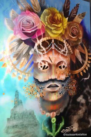 Indian digital painting