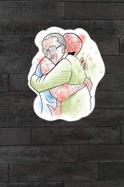 #homemaranha #spiderman #stanlee #marvel #hqs #quadrinhos #comics #nerd #geek #colorida #colorful #artfusionconcept #saopaulo #brasil #tatuadoresdobrasil #abraço #hug