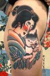 Geisha #italianjapanesetattoo #top_class_tattooing #japanart #topttattooing #topclasstattoing #bright_and_bold #americanatattoos #italian_traditional_tattoo #friendship #realtraditional #inked #oriemtaltattoo #tattoo #tattooes #tattooitaly #convention #tattoolife #tattoolifemagazine #inkart #tattooartistmagazine #bologna #tattoobologna #bolognatattoo #horrorvacuitattoo #tatuaggibologna #tttism #japanesetattoo