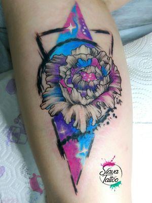 #StaniSlavaTerskaya #SlavaTattoo #tattoodesing #tattoo #tattoocolor #tattoowatercolor #tattooflower #peony
