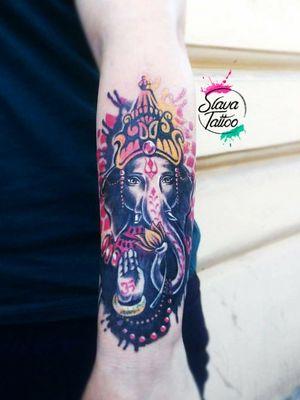 #StaniSlavaTerskaya #SlavaTattoo #tatoo #tattooganesha #ganesha #ganeshatattoo #GaneshaInspired