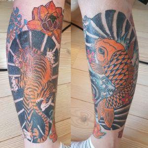 Japanese leg piece ( sides )