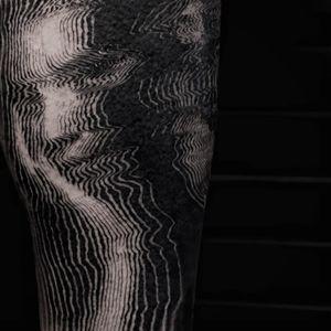 Tattoo by Balazs Bercsenyi #balazsbercsenyi #besttattoos #best #favorite #surreal #blackwork #portrait