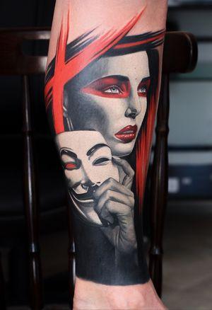 Large cover up Vendeta theme