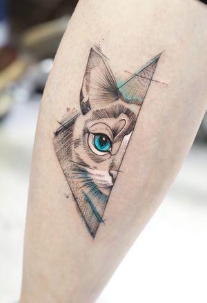 ❤️❤️❤️ #tattoolatino #blackworktattoo #tattooartist #quito #cat #cattattoo #bishoprotary #thebesttattooartists