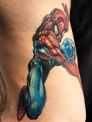 #healed  #healedtattoo #spiderman #marvelcomics #stanlee #johnromitajr