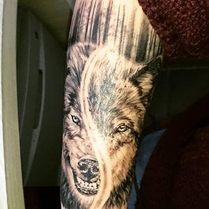 #tattoowolf