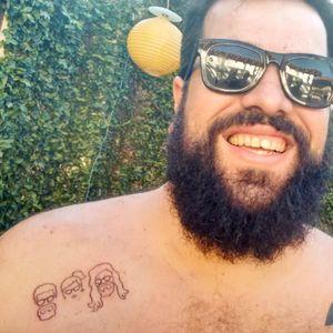 #brothers #tattooexperience #tattoo #tatouage #tattoo #tatuagem #tatuaje #tatuaggio #tattoodo #tattoo2me #aurorabeatriz #luttiink #arte #theartoftattoo #saopaulo #brazil