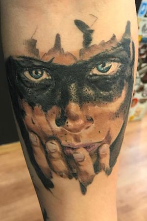 My one and only full color realism tattoo:) healed