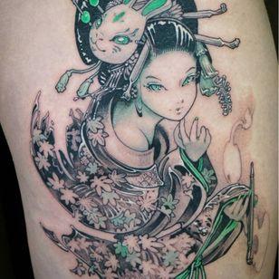 Tattoo by Hori Benny #HoriBenny #InvasionClub #Osaka #Japan #Otaku #anime #manga #illustrative