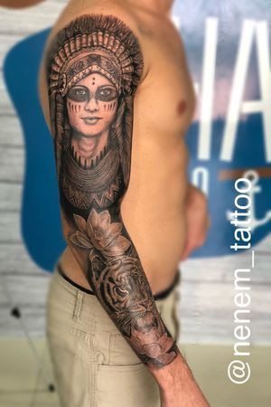 Por Neném Tattoo Instagram @nenem_tattoo 86 9 9488-2136 #tattoo2me #electricink #dreamstatto #Tattooilha #Tattoophb #Tattooink #Tattooing #imperatriztattoo #Tattooed #tattooformen #Tattoopratodavida #leomateriaistattoo #IlhaTattoo #SãoLuiz #nenemTattoo #nenemtattoophb #tattoorealismo #tattoorealistic #realismotattoo #tattooja