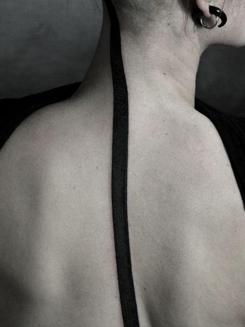 #minimalist #line #blackwork
