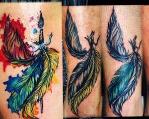 Watercolor by Cat Ink. Per info contattami DM - #tattoo #tatuaggio #italiantattoo #ink #tattoos #inked #inkedgirls #inktober #tattooed #tattooer #italiantattooartist #traditionaltattoo #realtattoos #watercolor #colortattoo #tattooist #inklife #art #artoftheday #coloredtattoo #inkinspiration #tattooinspiration #thebesttattooartists #tattoodo #tattoolove #mustcrew @musttattooline_officialpage @mustcream