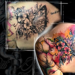 Watercolor & sketch tattoo by Cat Ink. Per info contattami DM - #tattoo #tatuaggio #italiantattoo #ink #tattoos #inked #inkedgirls #inktober #tattooed #tattooer #italiantattooartist #traditionaltattoo #realtattoos #watercolor #colortattoo #tattooist #inklife #art #artoftheday #coloredtattoo #inkinspiration #tattooinspiration #thebesttattooartists #tattoodo #tattoolove #mustcrew @musttattooline_officialpage @mustcream
